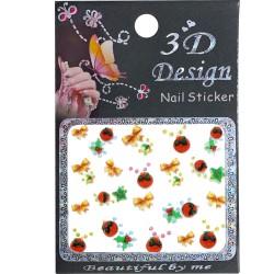 Стикеры для ногтей 3D...
