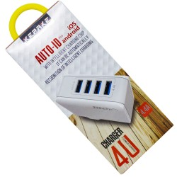 Wall charger 220V 4USB...