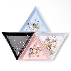Triangular plastic...