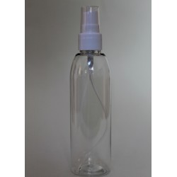 Transparent bottle with...