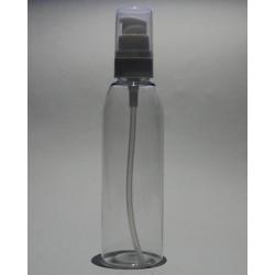 Transparent bottle for...