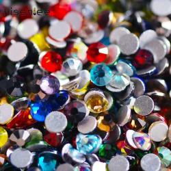 Цветные камни сваровски SS3...