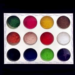 Набор разноцветного бархата...
