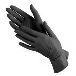 Нитриловые Чёрные перчатки...