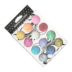 Набор разноцветных опилок...