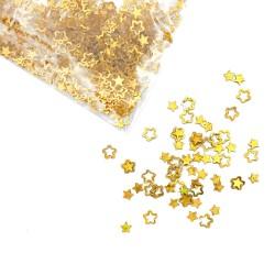 Золотые пустые звезды с...