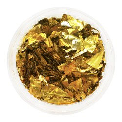 Mica in a jar GOLD. Full to...